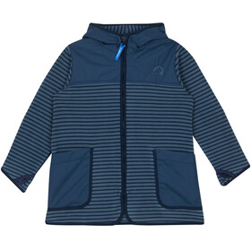 Finkid Kids Kodikas Fleece Jacket blue mirage/navy